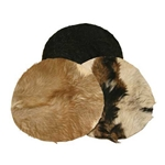 Goatskin Heads, with Hair  47-GH