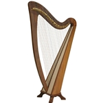 EMS Alyssa Harp TM, 34 Strings 47-HRB34