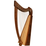 Heather Harp TM, 22 Strings,  Knotwork 47-HTHA-K