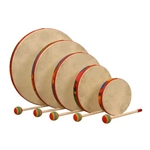 Remo Hand Drum Set of 5, Rain Forest 47-KD-0500-01