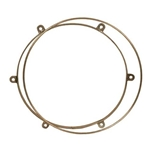 "Metal Doumbek Tuning Rings, for 10"" Drum 47-MD10-TR"