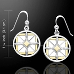 Protection Growth Mandala Earrings 52-MER530