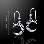 Magick Moon Silver Earrings 52-TE2007