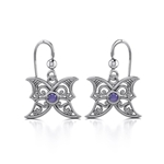Blue Moon Silver Earrings 52-TE2897