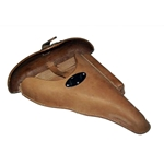 German WWII P-38 Hardshell Holster Natural (Brown) Reproduction