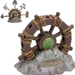 Wheel of Pain Display Stand for Mini Conan Arms by Marto