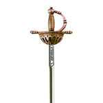 Spanish Tizona Cup Hilt Rapier Letter Opener by Marto
