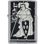 Damascene Zippo Lighter French Knight by Marto 56-M840-006