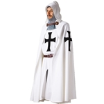 Teutonic Crusader Knight Tunic and Cloak - Set