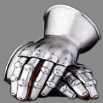 Hourglass Gauntlets 14th Century 1.5 mm Steel