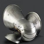 Medieval Mitten Gauntlets 14th - 15th Century 17 Gauge Steel