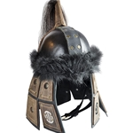 Nomad Leather LARP Helmet