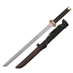 Braided Leather Short Japanese Ninja Sword 62-2030
