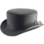 Bromley Leather Hat
