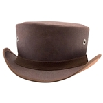 Downtown Canvas Top Hat