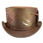 Draco Leather Hat