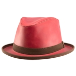 SoHo Hat in Ruby