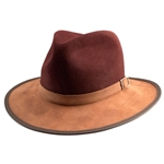 Summit Hat in Burgundy