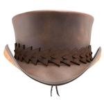 El Dorado Top Hat with Arrow Band