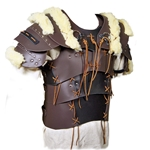 Laced Breastplate with Wool 65-11-34