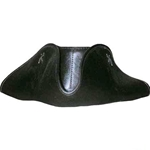 Leather Tricorn Hat