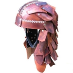 Scale Leather LARP Helmet 65-4-44