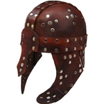 Leather Barbarian LARP Helmet 65-4-53