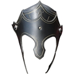Shell Leather LARP Helmet 65-4-9