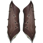 Leaf Leather Bracers 65-9-34