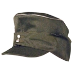 German Mountain Troops Officers Wool Cap - Bergmutze Cap