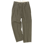 M40 German Trousers Field Grey Wool