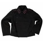German WWII Panzer Jacket Black Repro