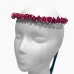 Small Rose Wreath - Red