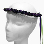 Small Rose Wreath - Purple
