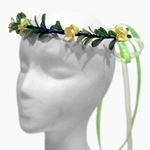 Cherry Blossom Wreath - Yellow