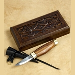 Cutting Knife with Wooden Box AH-3295