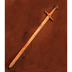 English Parliament Wooden Sword AH-3358-W