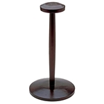 Wooden Helmet Stand - 14.5 inches Tall