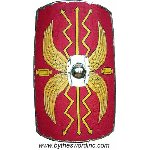 Roman Shield Linen Covered AH-3853-L