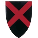 Wooden St Patrick Medieval Shield