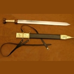 Roman Cavalry Sword with Belt AH-4208-N