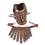 Leather Royal Muscled Cuirass AH-6071-LR