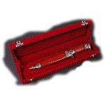 Plush Velvet Knife Display Box AH-PVKDB