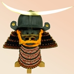 Date Masamune Helmet or Japanese Kabuto and Mempo AH2088
