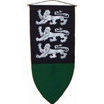 The Triple Lion Passant Guardant Banner