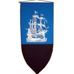 Spanish Galleon Banner BP-15