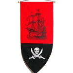 Pirate Ship Banner BP-22