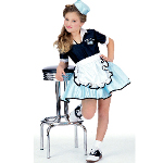 Car Hop Girl Child Costume 100-111381