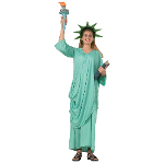 Statue Of Liberty Adult Costume 100-111516