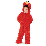 Sesame Street Elmo Plush Deluxe Toddler Costume 100-115172